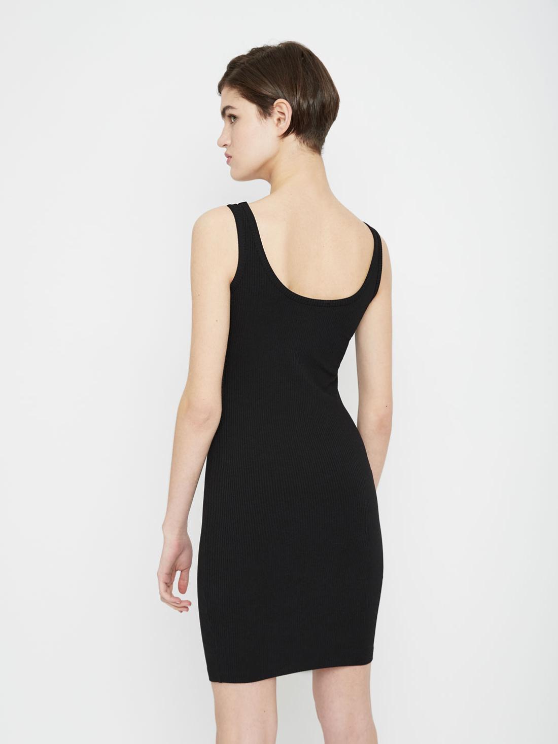 Облегающее платье на тонких бретелях