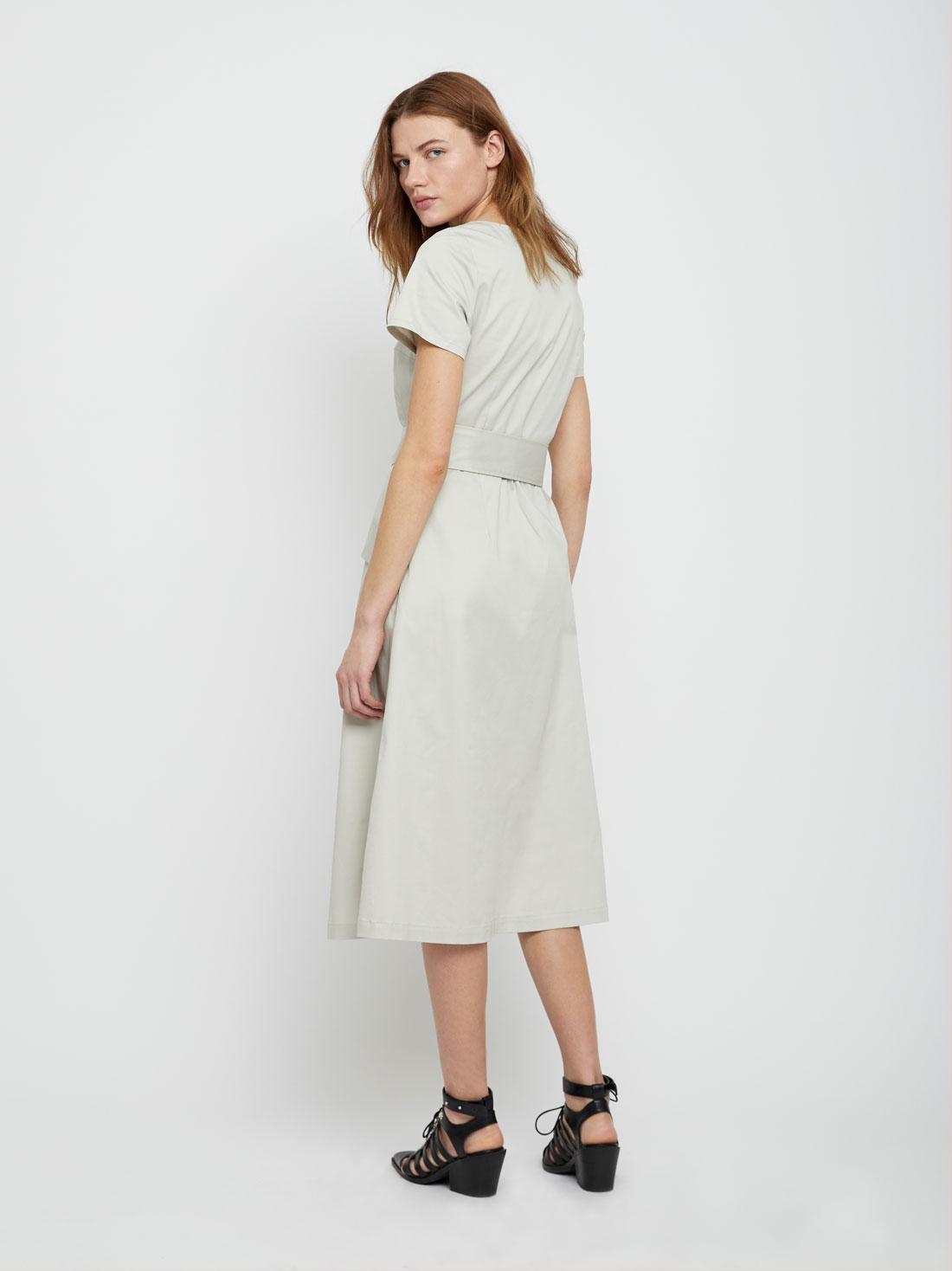 """Платье с вырезом """"Каре"""""""