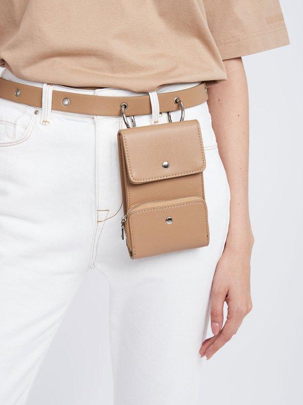 Ремень-сумка вид сзади