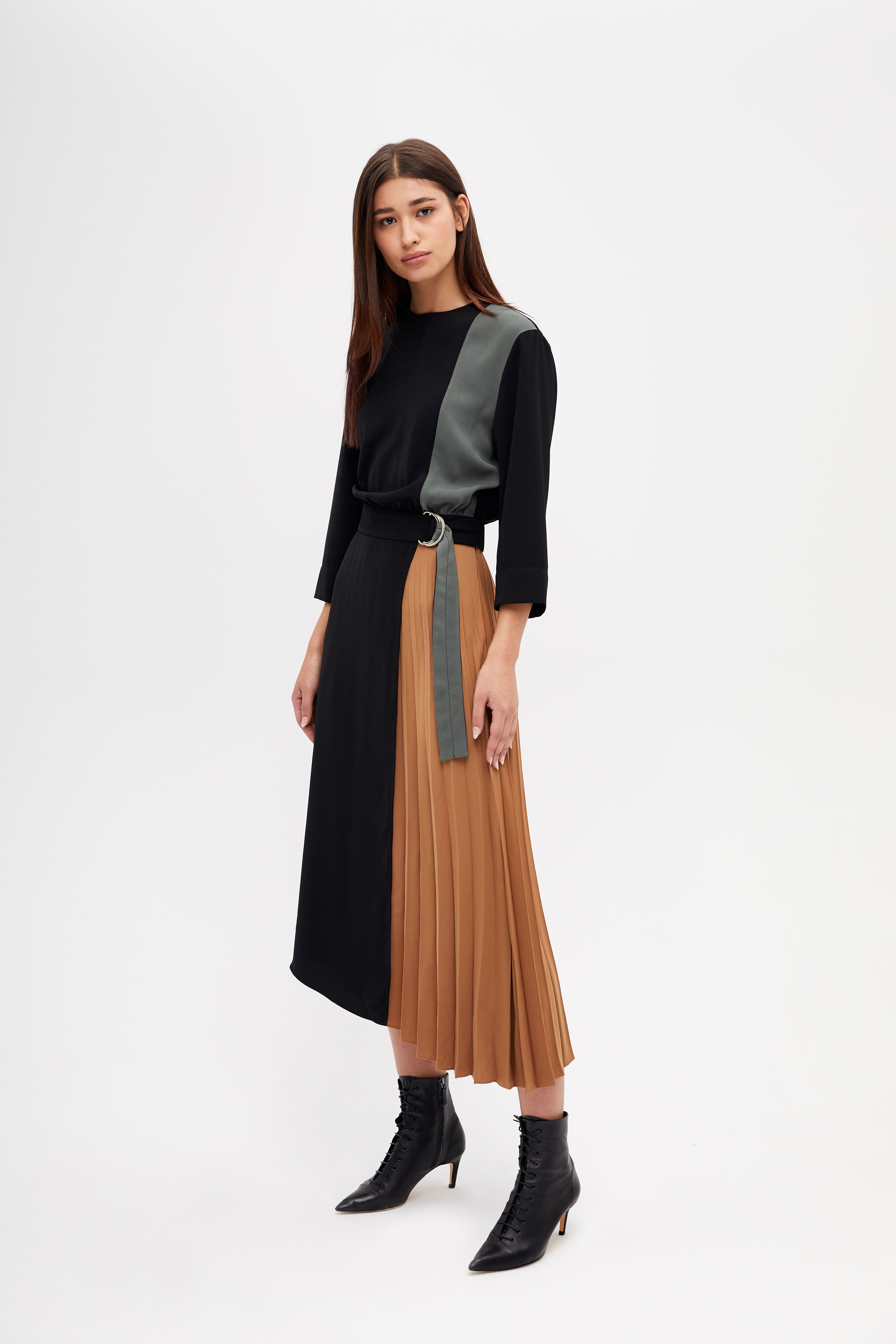 Платье LIME Асимметричное платье