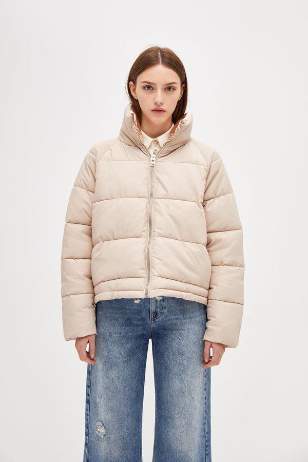Куртка с асимметричной длиной
