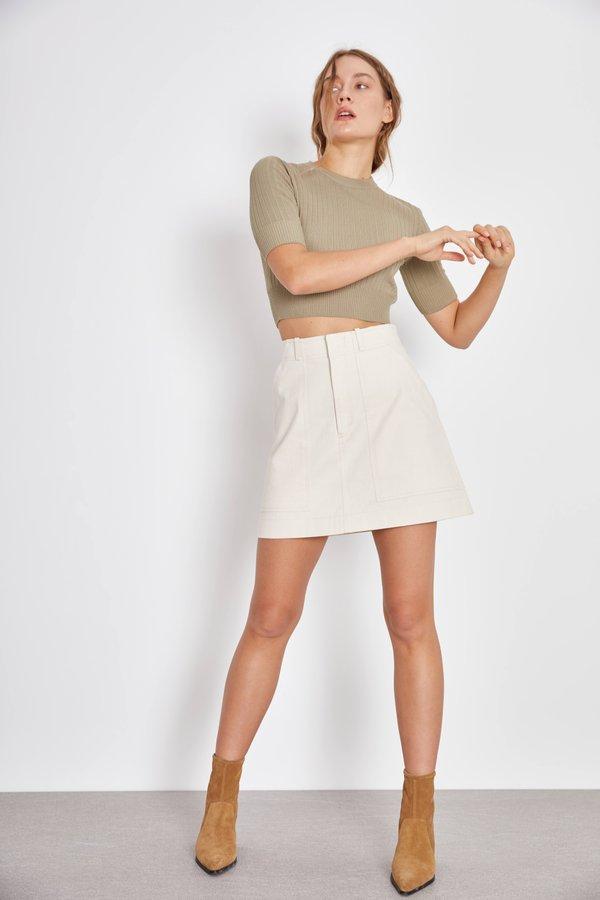 Мини-юбка с карманами