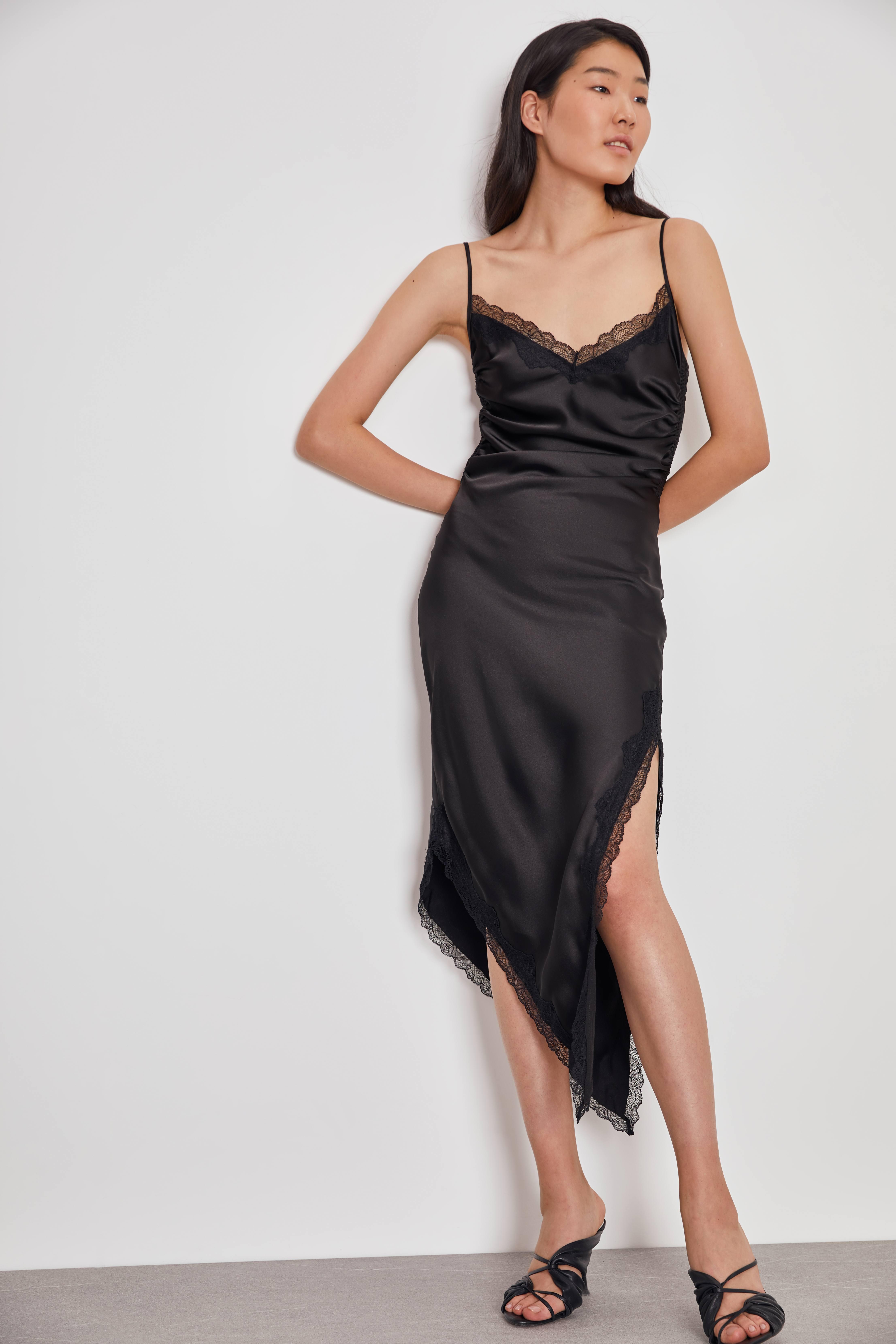 Платье LIME Платье асимметричного кроя платье mr520