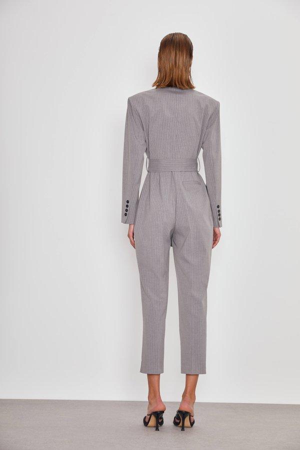 Комбинезон-пиджак вид сзади