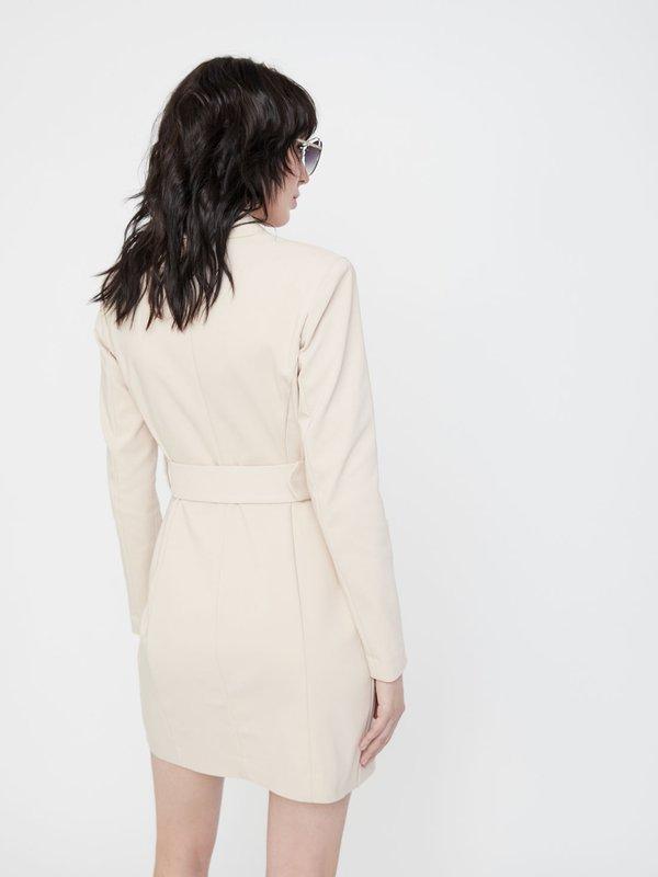 Платье-пиджак вид сзади
