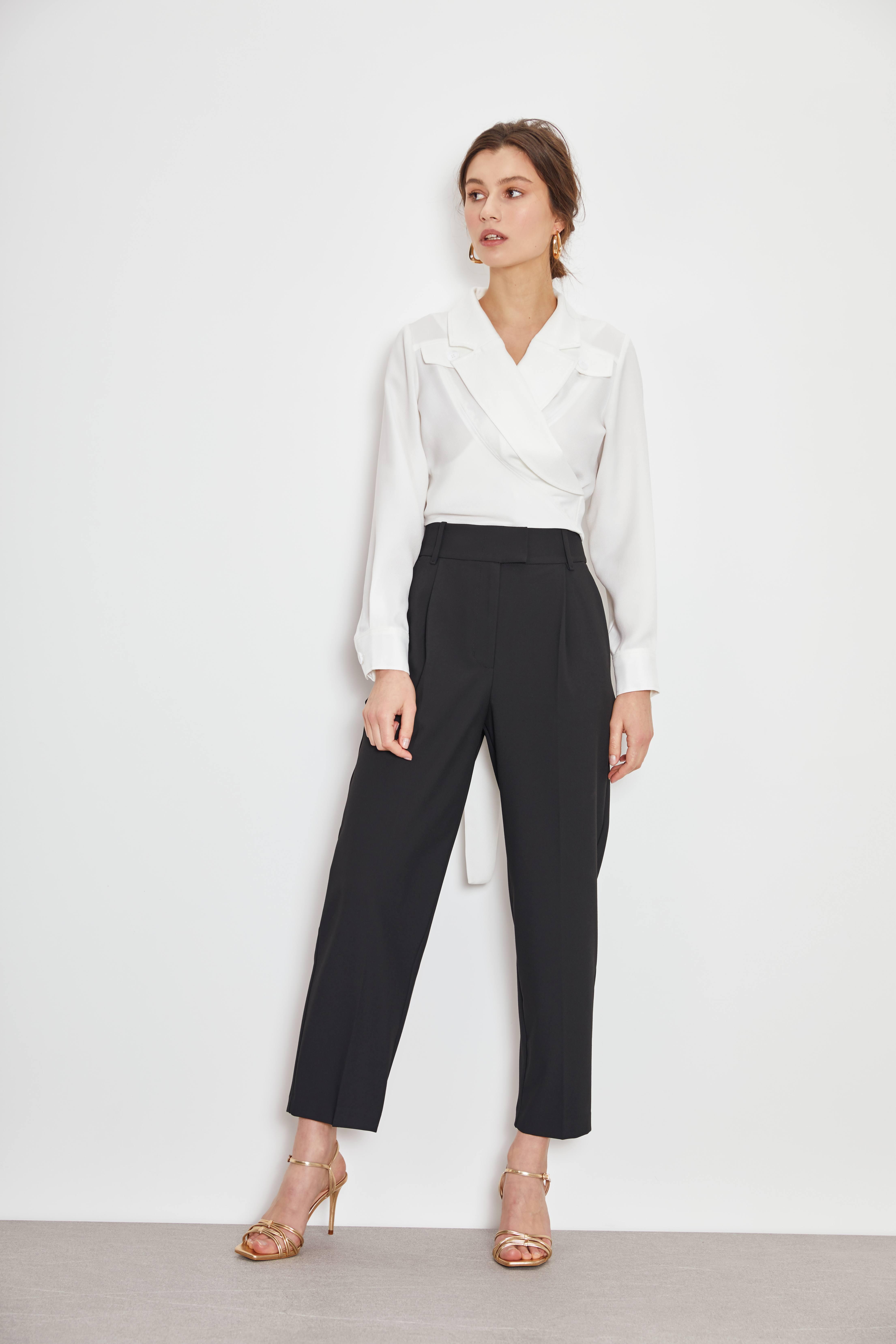 Блузка LIME Блузка с запáхом блузка lime блузка с эластичной талией