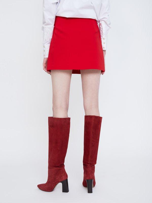 Юбка-шорты вид сзади