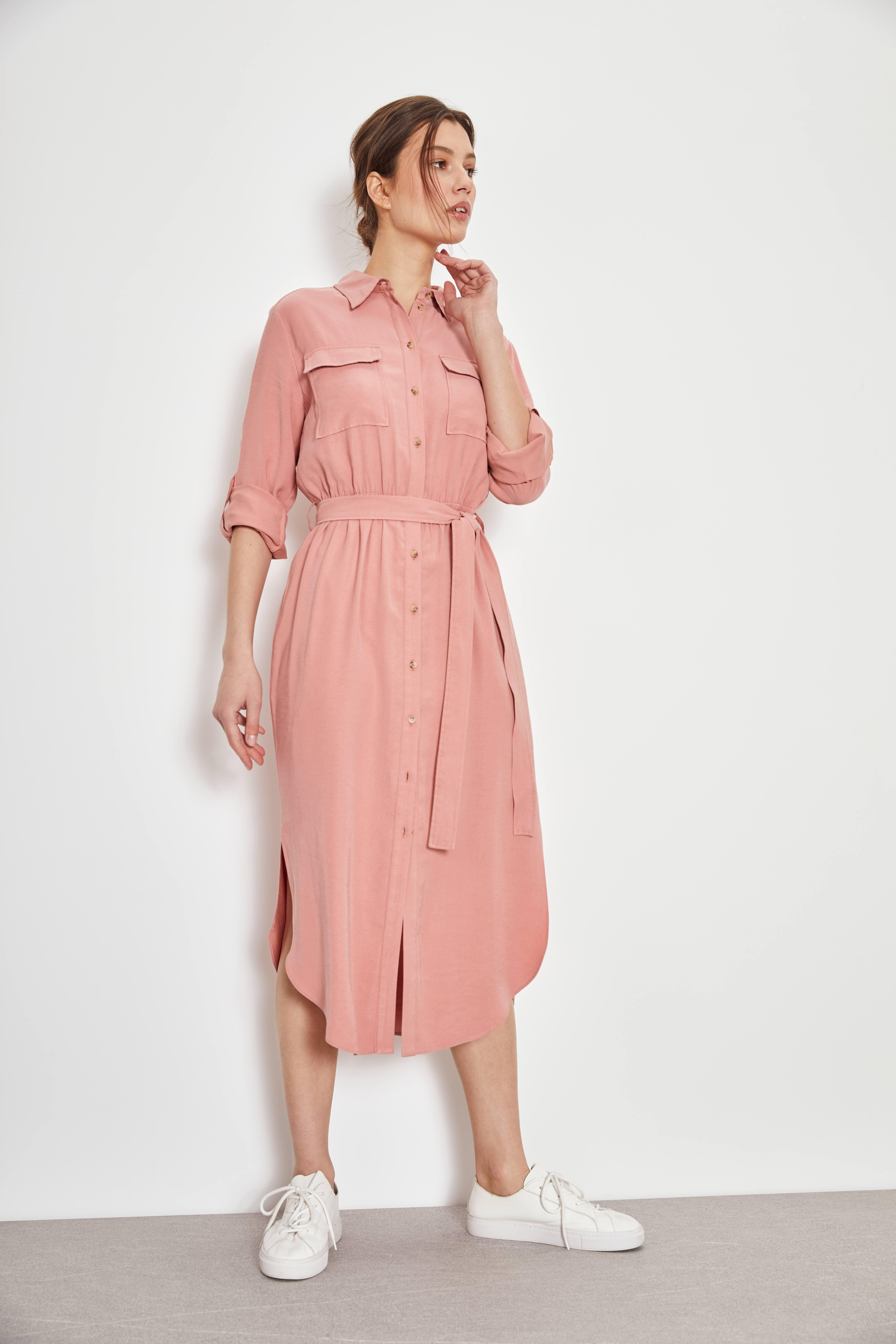 Платье-рубашка фото