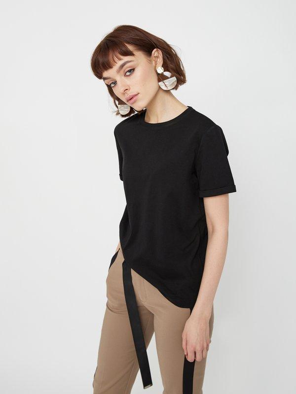 Базовая футболка цвет: черный