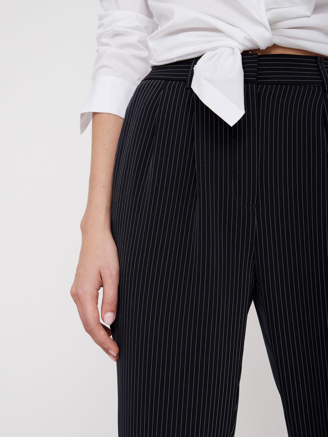 Зауженные брюки-джоггеры