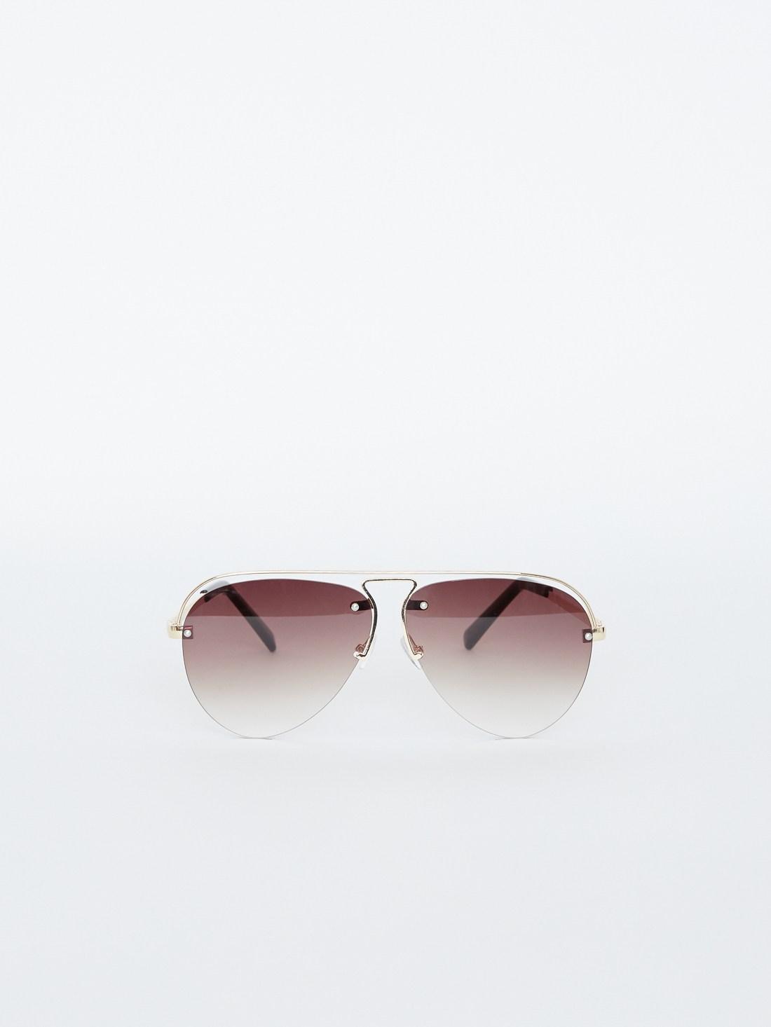 Солнцезащитные очки-авиаторы
