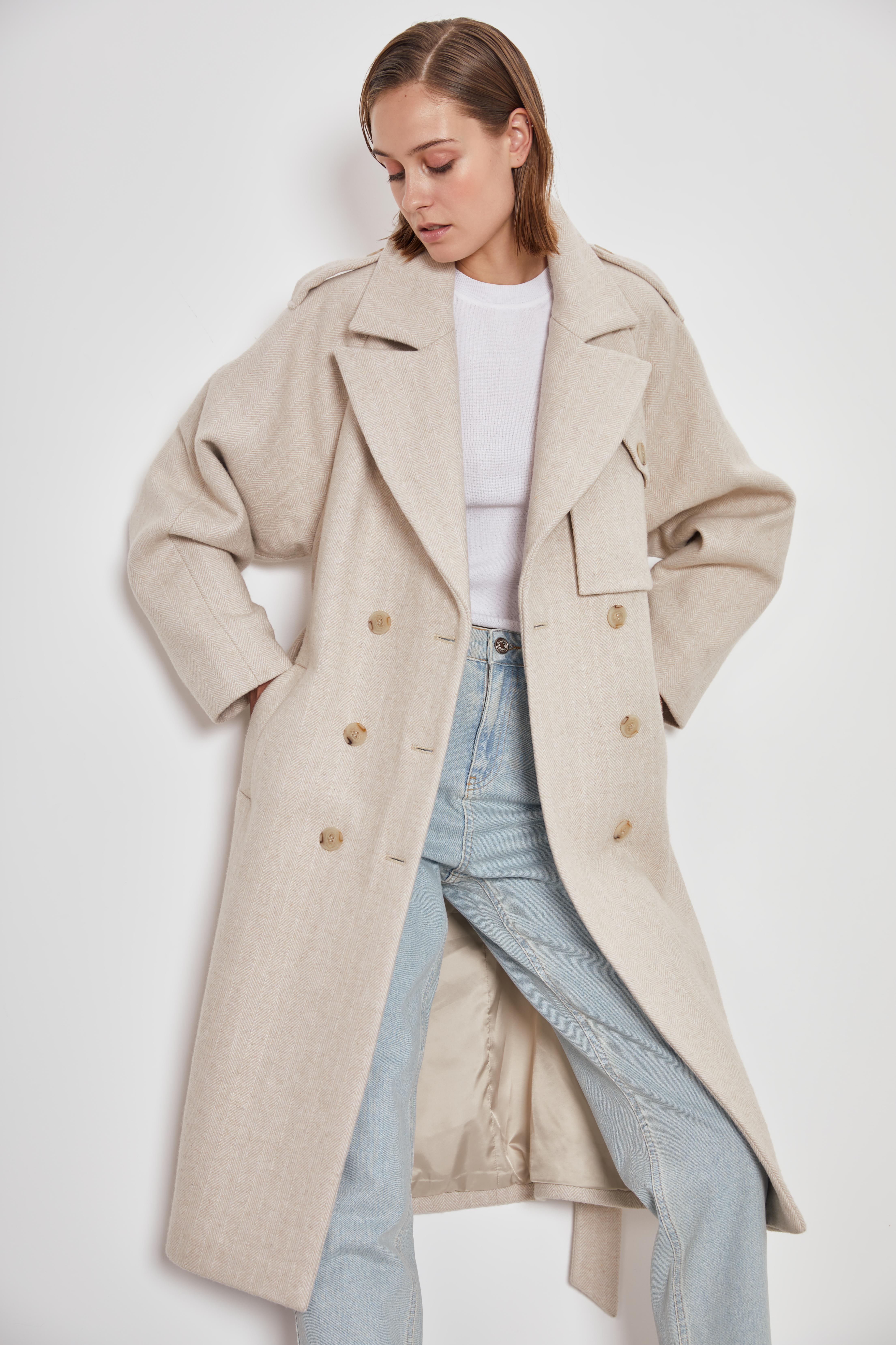 цена Пальто LIME Пальто с поясом онлайн в 2017 году