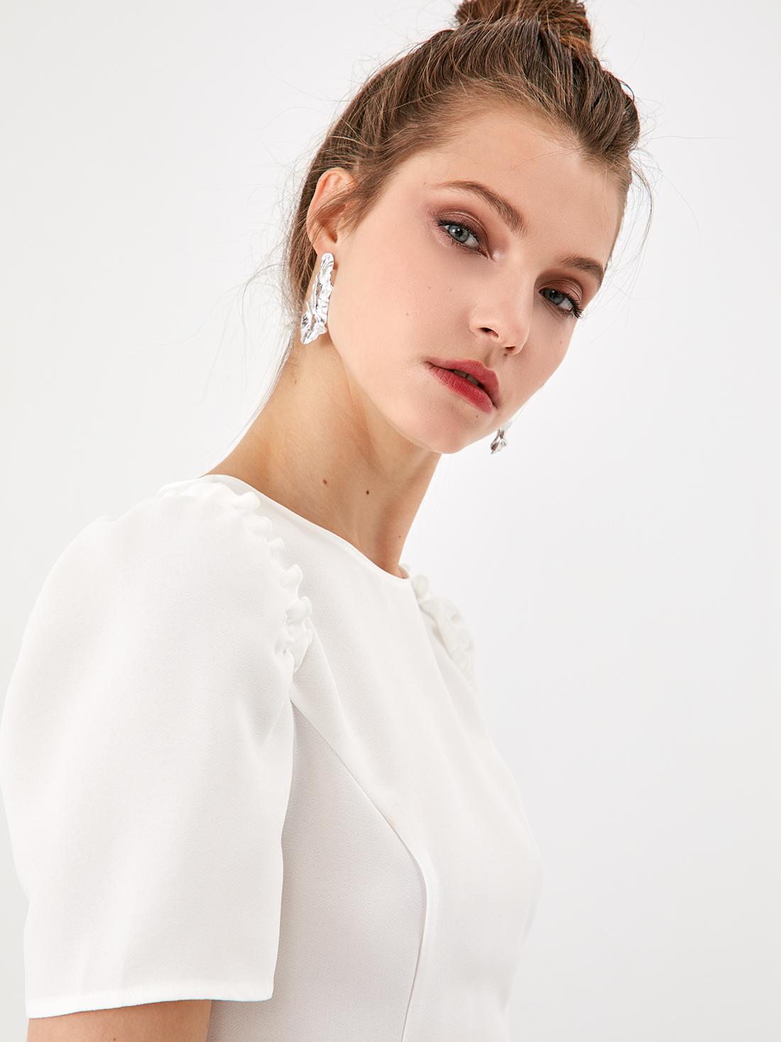 Приталенная блузка