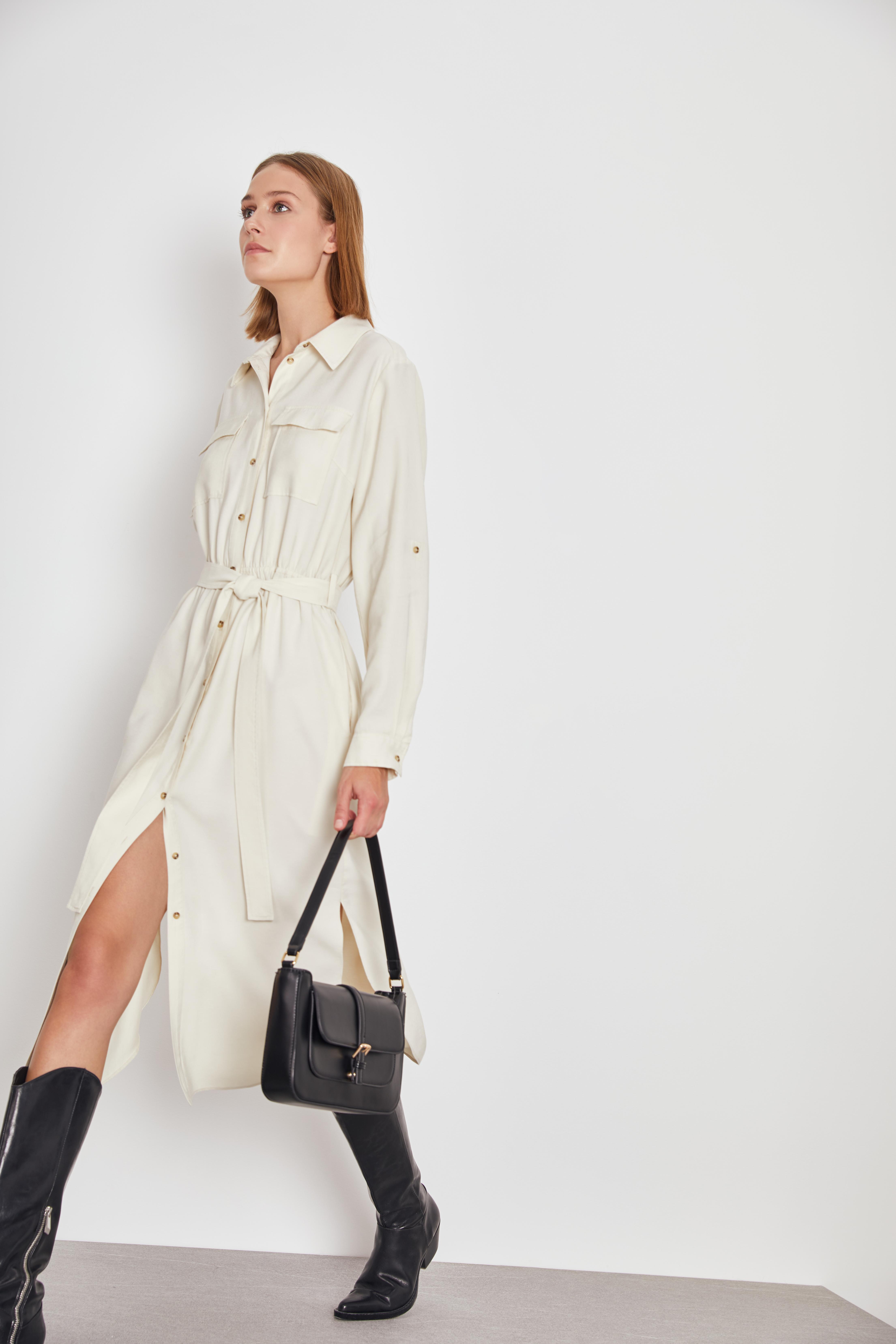 Платье LIME Платье-рубашка платье mr520