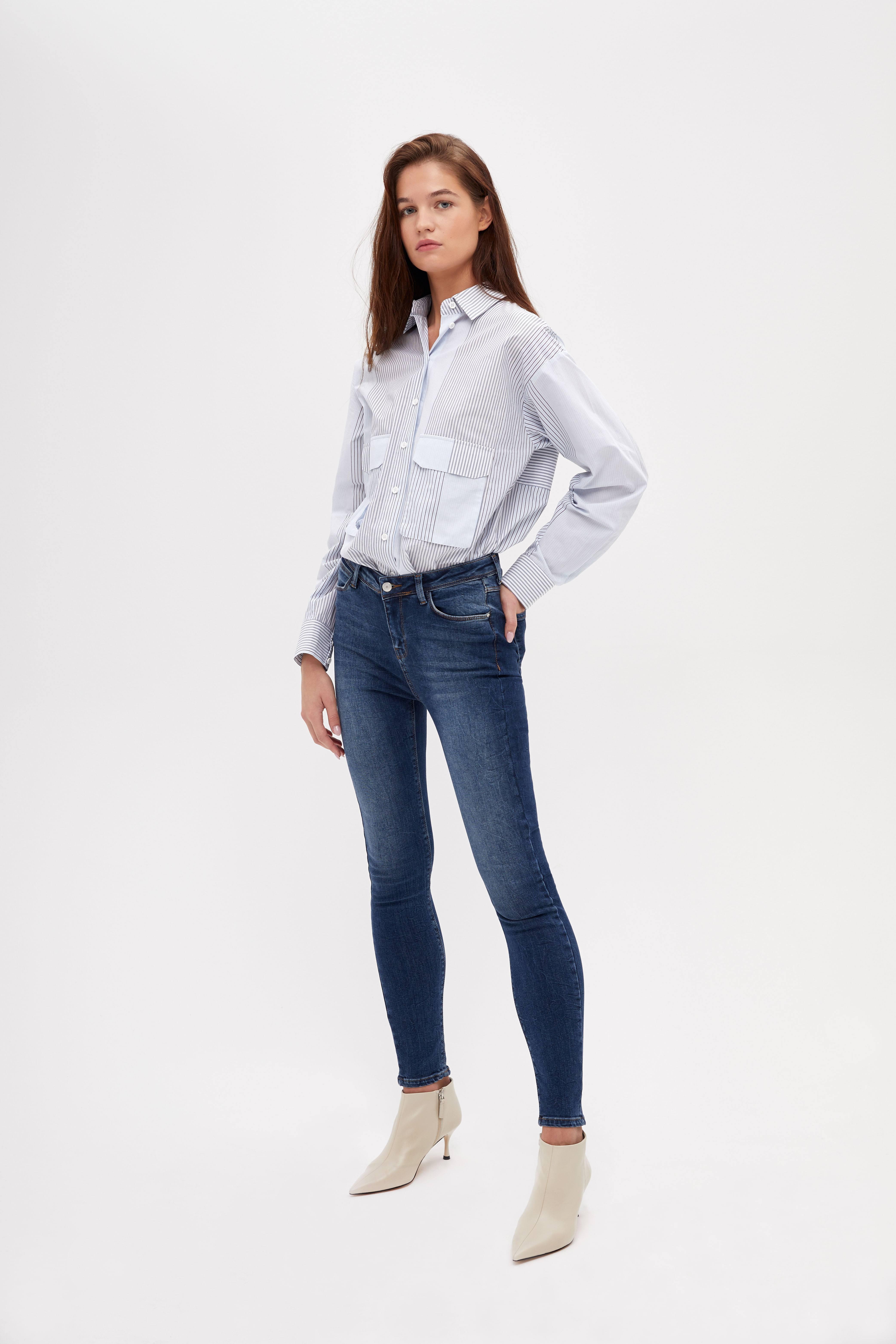 Джинсы LIME Зауженные джинсы джинсы skinzee diesel джинсы зауженные