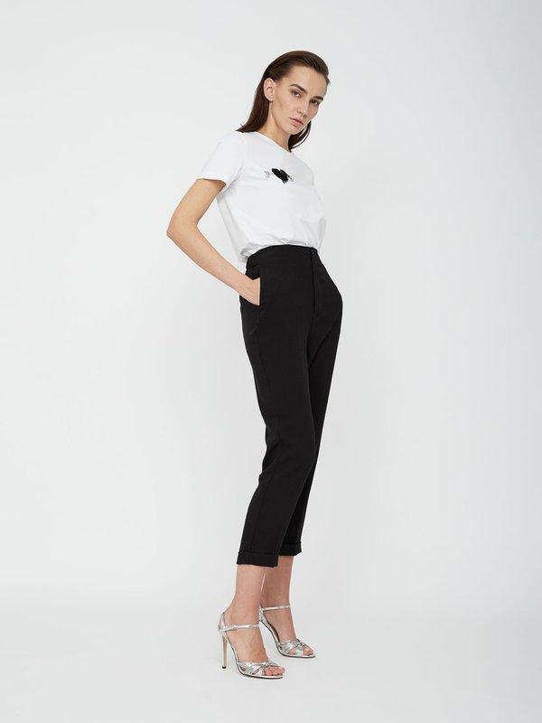 Классические брюки цвет: черный