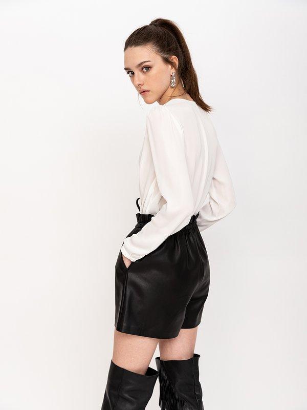 Блузка-боди вид сзади