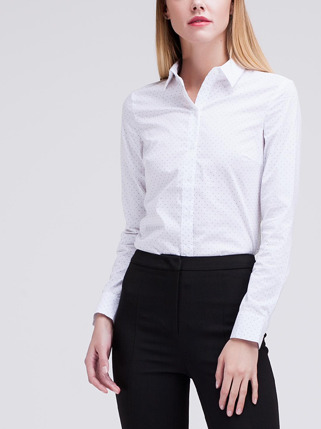 Классическая рубашка с принтом