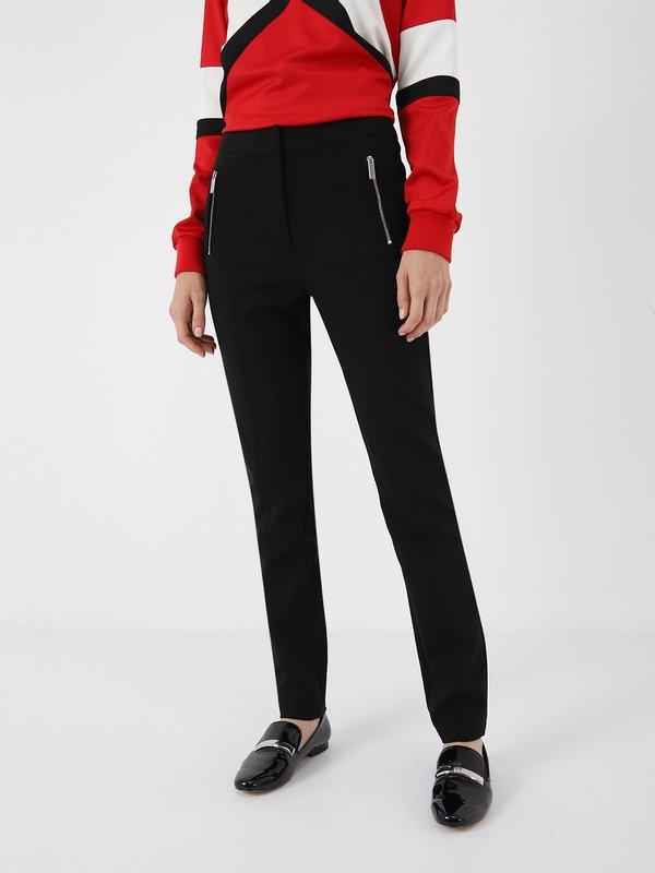 Зауженные брюки цвет: черный