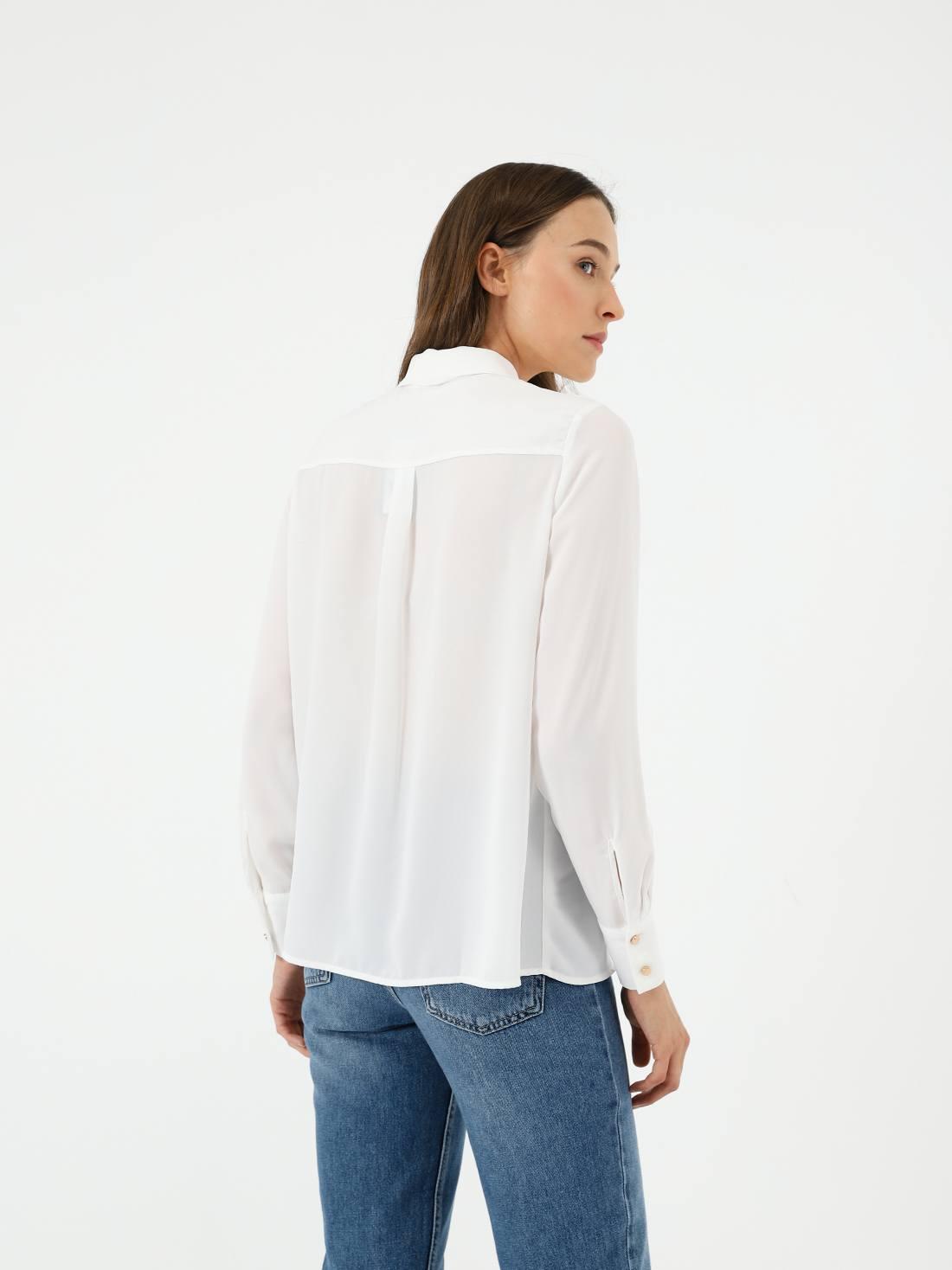 Рубашка с карманами