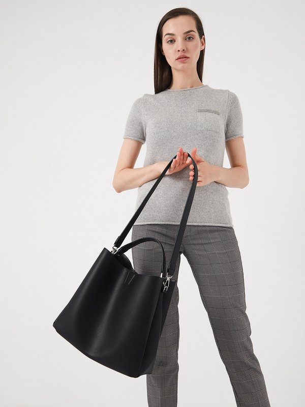 Двойная сумка - шоппер