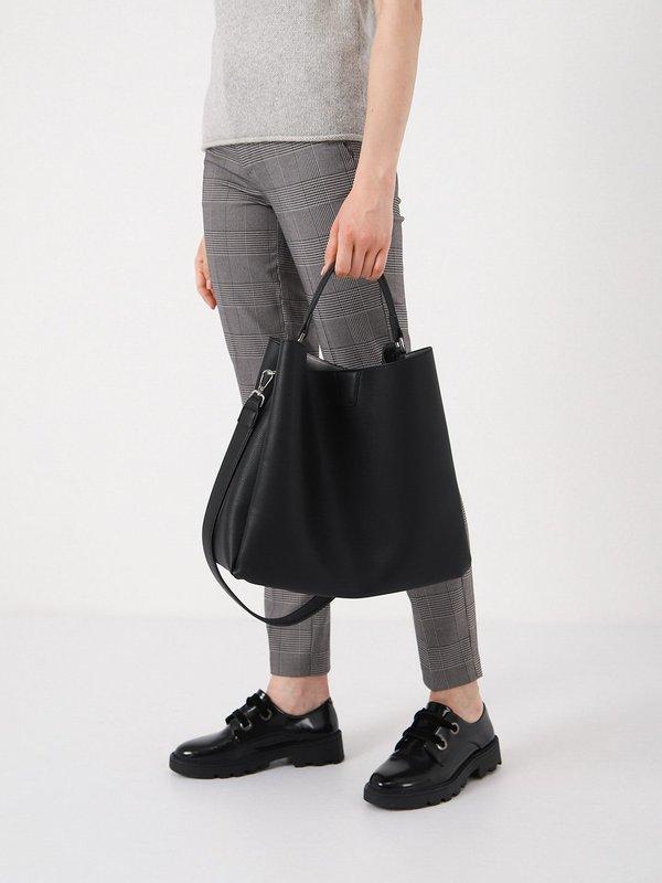 Двойная сумка - шоппер  вид сзади