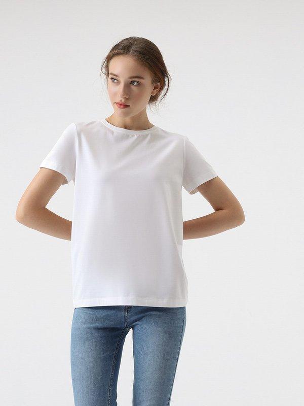 Классическая футболка цвет: белый