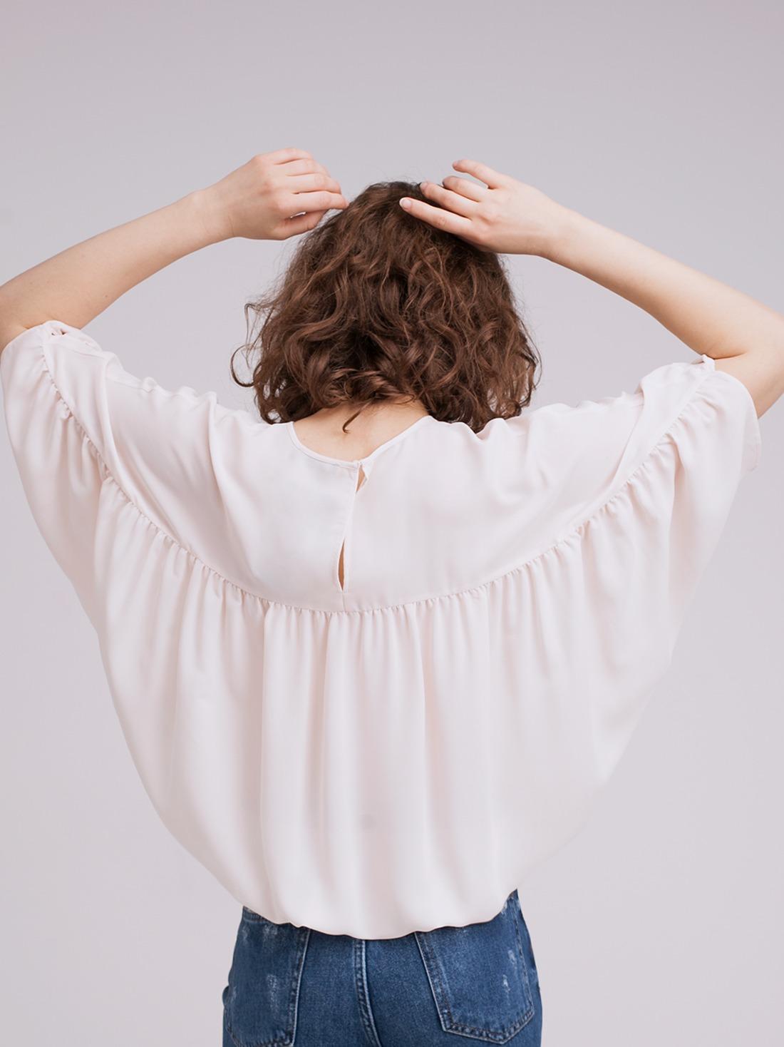 Свободная блузка