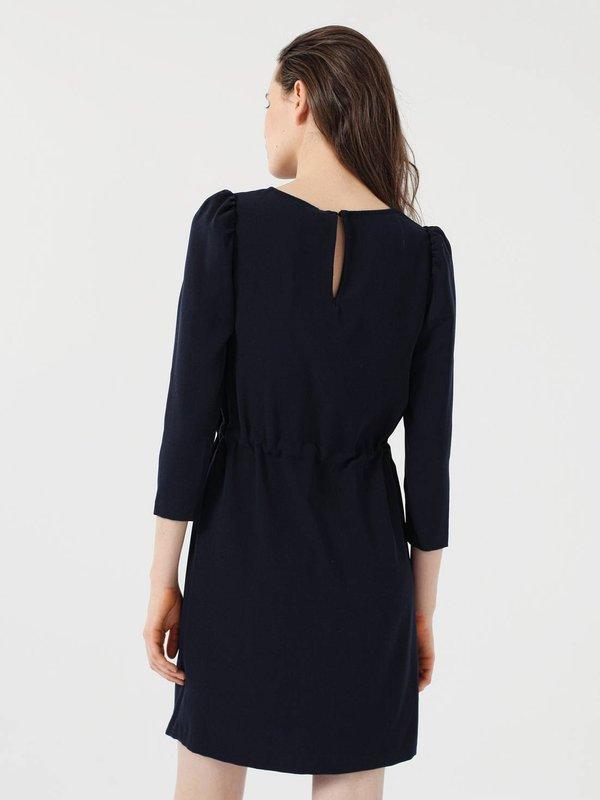 Платье с кулиской вид сзади