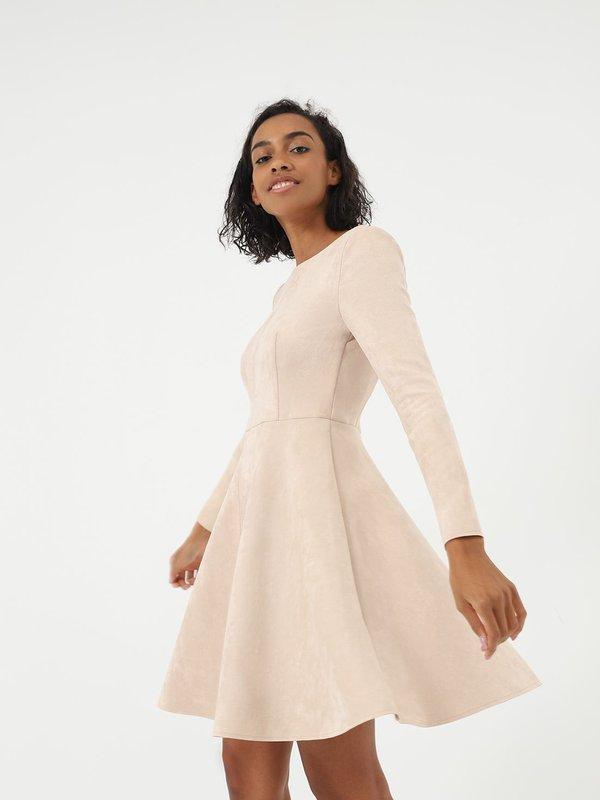 Платье с юбкой - клеш